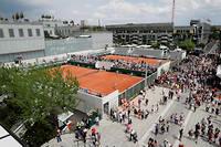 Roland-Garros a enregistré une forte participation avec pas moins de 480 500 spectateurs cette année.  ©THOMAS SAMSON