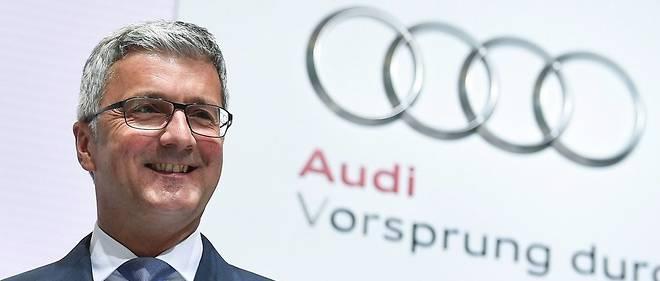 Rupert Stadler, patron d'Audi.