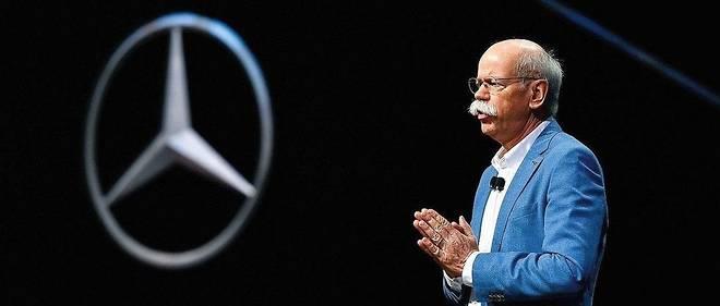 Dieter Zetsche, la patron de Daimler, nie toute manipulation des mesures d'émissions polluantes