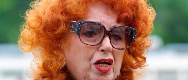 L'accordéoniste Yvette Horner en juin 2001.