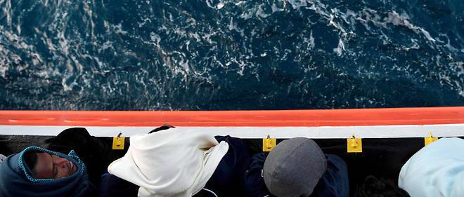 Ces migrants ont été secourus au large de la Libye entre le samedi 9 et le dimanche 10 juin (photo d'illustration).