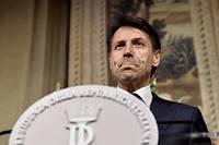 Le nouveau président du Conseil italien, Giuseppe Conte.  ©