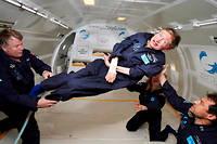 «C'est un beau geste, symbolique, qui crée un lien entre la présence de notre père sur cette planète, son vœu d'aller dans l'espace et ses travaux d'exploration de l'Univers», a réagi sa fille, Lucy Hawking.  ©akg-images / SPL