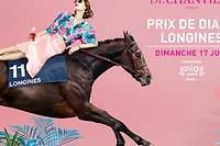 Le traditionnel rendez-vous hippique du Prix de Diane Longines aura lieu le dimanche 17 juin 2018 dans le cadre idyllique de l'hippodrome de Chantilly.