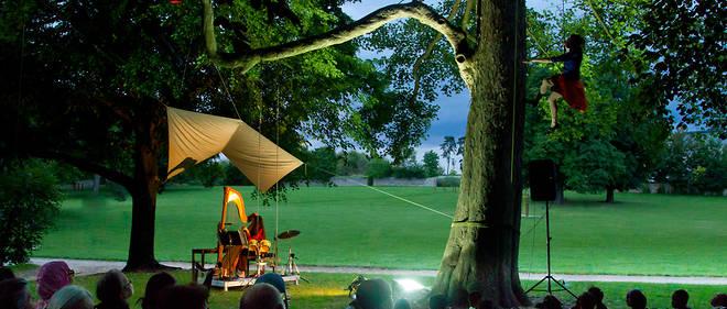 Le Festival des forêts dans le parc de Bayser à Compiègne