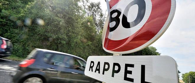Une limitation de vitesse à 80 km/h s'appliquera sur les routes secondaires à double sens sans séparateur central, soit 40% du réseau routier français.