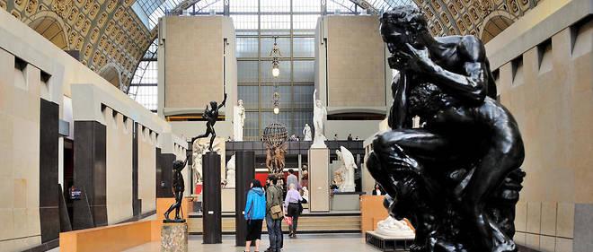 Le musée d'Orsay est fermé ce mardi.
