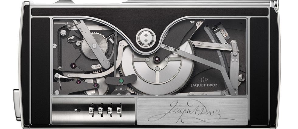 <p>La Machine &#224; signer d&#233;voil&#233;e pour le 280e anniversaire de la maison suisse poursuit la tradition de l&#8217;&#233;merveillement m&#233;canique initi&#233;e par son fondateur en 1738.&#160;</p>
