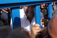 Le ministre de l'Intérieur italien de la Ligue, Matteo Salvini.