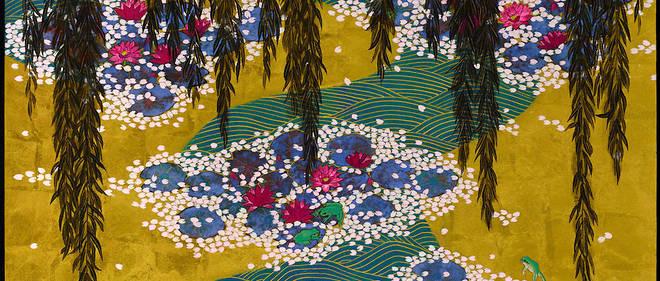 Le musée Giverny présente un accrochage temporaire consacré au peintre japonais contemporain Hiramatsu Reiji.