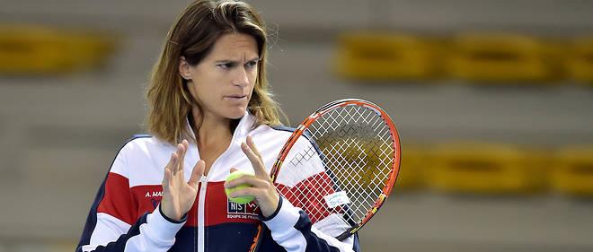 C'est la première fois qu'une femme prend la tête de l'équipe de France de Coupe Davis.