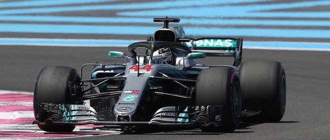 Formule 1 Lewis Hamilton Nouveau Roi De France Automobile