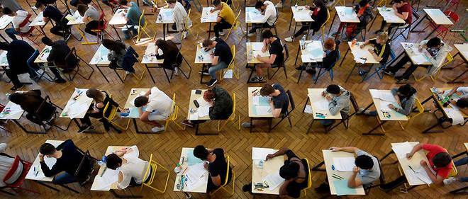 Selon l'enseignant interrogé par Le Point.fr, l'épreuve était «banale».
