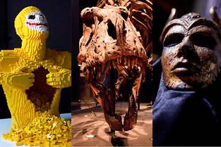 Guide pratique des expositions les plus pop de l'été.