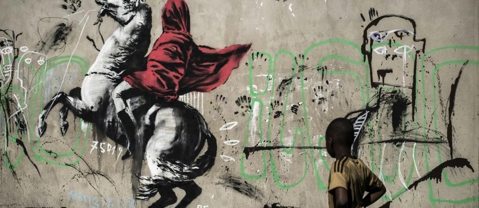 Street Art Banksy Revendique Des Oeuvres Realisees A Paris Le Point