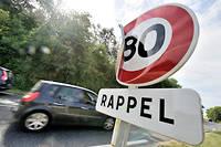 On ne connaît toujours pas les résultats de l'experience menée sur 81 km de routes à deux voies, durant deux ans, et qui a causé la colère des usagers. (C)Jrmie FULLERINGER