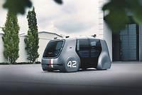 La voiture autonome VW Sedric.