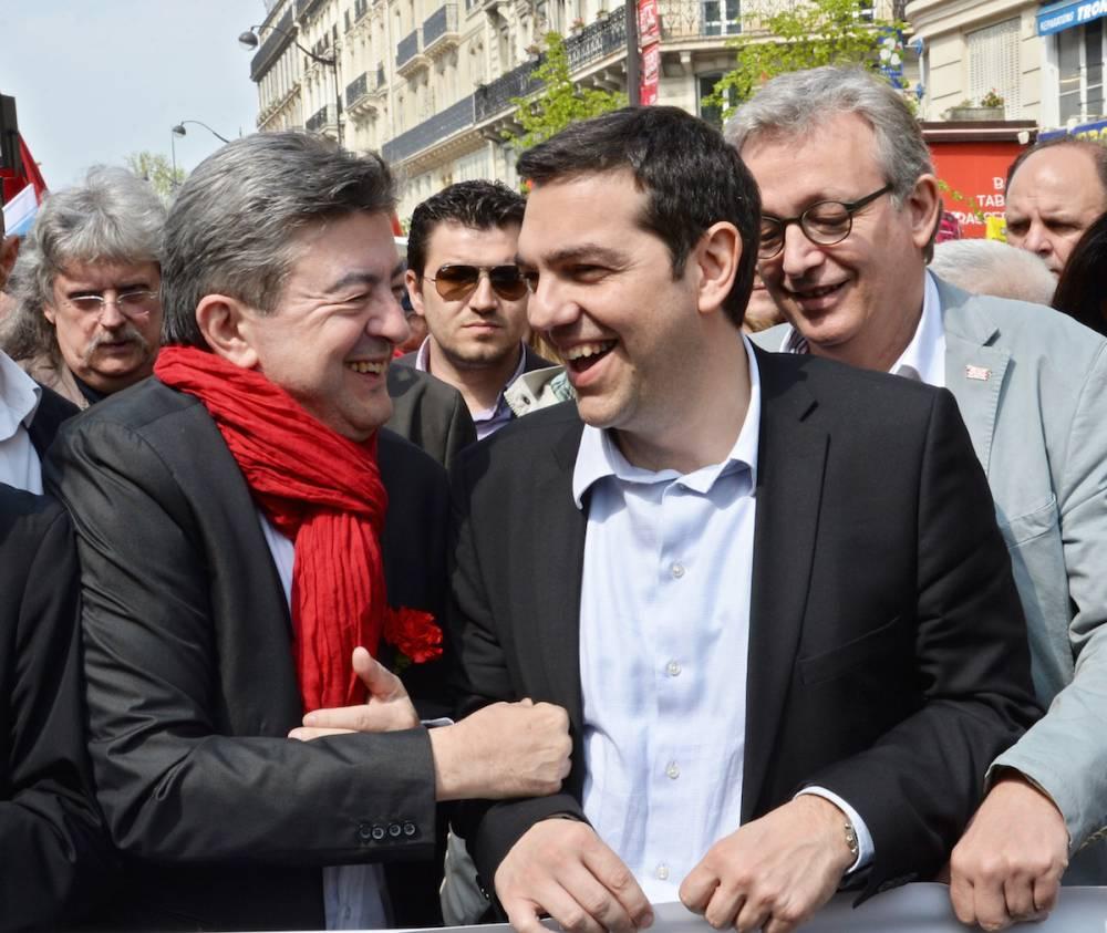 Mélenchon-Tsipras ©  PIERRE ANDRIEU / AFP