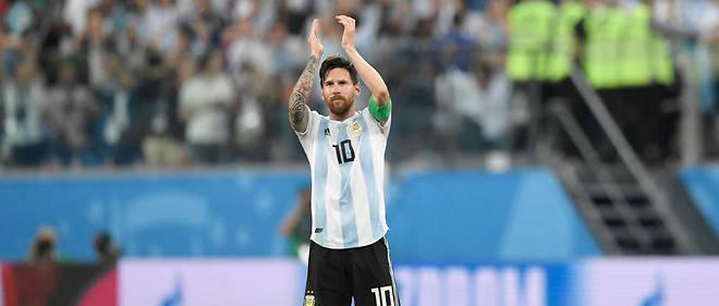 Lionel Messi est le leader d'une bien pâle Argentine.