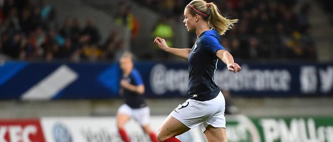 Eugénie Le Sommer devrait elle aussi disputer une Coupe du monde, dans un an.