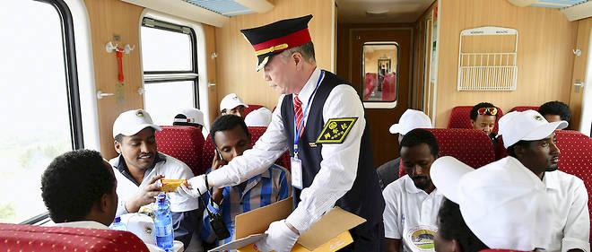 Outil d'intégration et de développement économique, le train qui relie Addis-Abeba à Djibouti sur 756 km a été financé par la Chine.