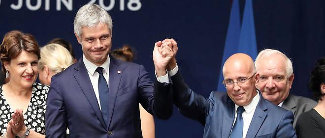 Laurent Wauquiez a néanmoins répondu à Valérie Pécresse, qui s'était  félicitée à la mi-journée du fait que « l'euro-scepticisme recule » chez  Les Républicains.