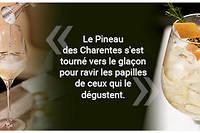 Le pineau des Charentes revisite l'apéritif.