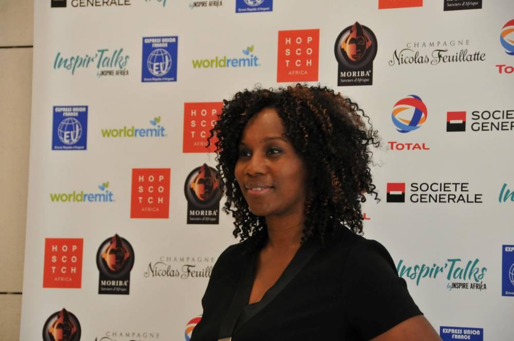 Valérie-Noëlle Kodjo Diop, responsable innovation Afrique à la Société générale. © SYLVIE RANTRUA SYLVIE RANTRUA