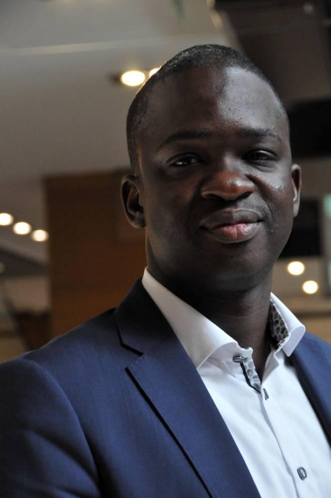 Omar Cissé, PDG d'InTouch © SYLVIE RANTRUA SYLVIE RANTRUA