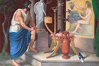 Zeuxis, peintre grec, peignit une nature morte représentant des grappes de raisin. Son réalisme réussit à duper les oiseaux, qui voulurent en picorer les grains.