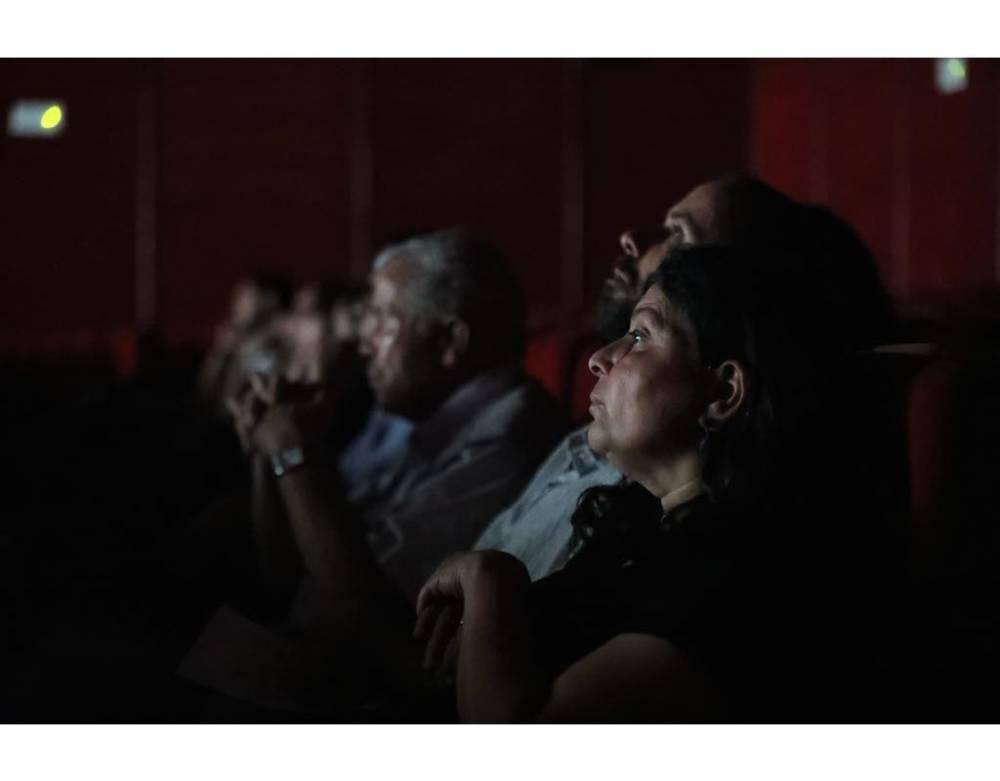 Des spectateurs du festival Carthage Dance. ©  Mahdi Azouzi