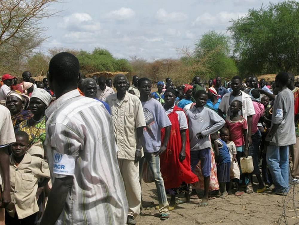 Des déplacés au Sud-Soudan pris en charge par le HCR (ici en 2012). ©  DFID/Flickr