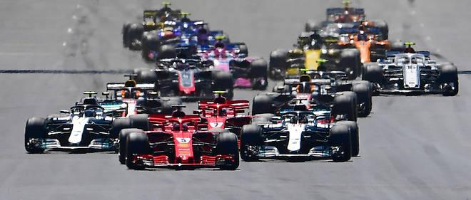 F1 Grande Bretagne Vettel Et Ferrari Gâchent La Fête De