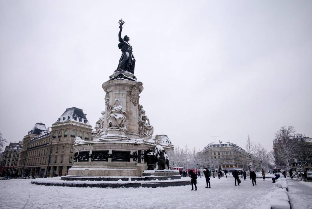 La place de la République © Leon Tanguy Leon Tanguy / MAXPPP