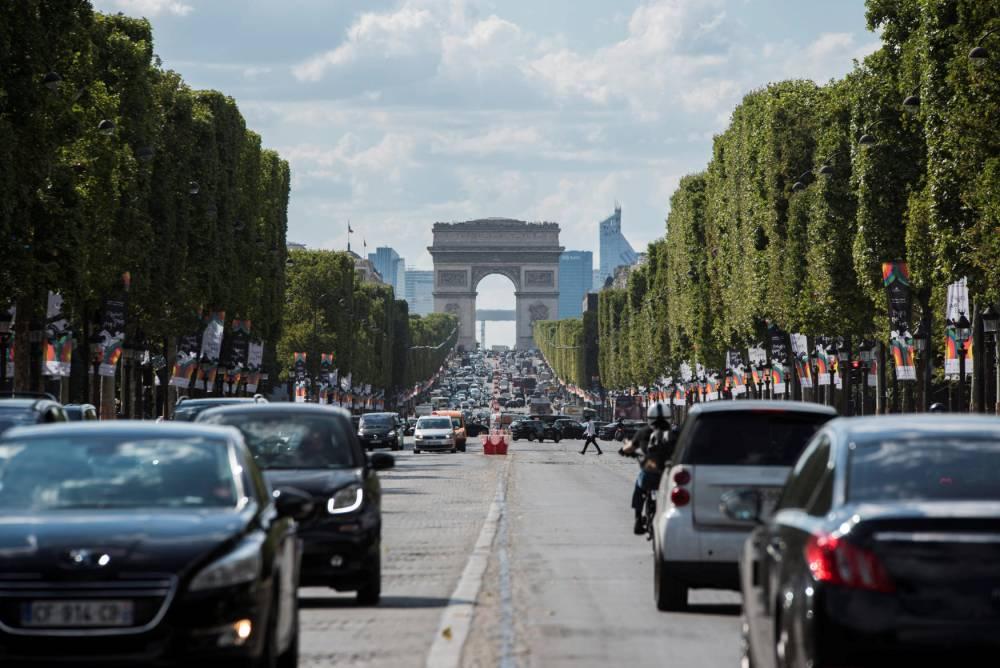 Avenue des Champs Elysees © Alexis Sciard Alexis Sciard  / MAXPPP / IP3 PRESS/MAXPPP