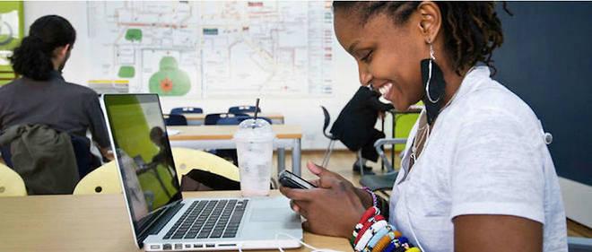 Nairobi, dans le célèbre incubateur de start-up iHub.