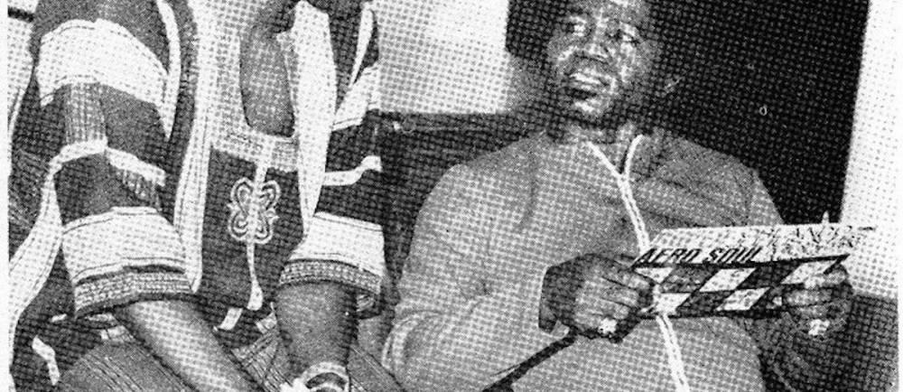 Orlando Julius et James Brown, Nigeria 1970. ©  Strut 2014