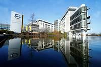 Le siège d'Opel à Russelsheim, dans la banlieue de Francfort  ©RALPH ORLOWSKI