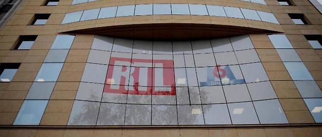 Le nouveau siège de RTL, propriété du groupe M6, à Neuilly-sur-Seine.