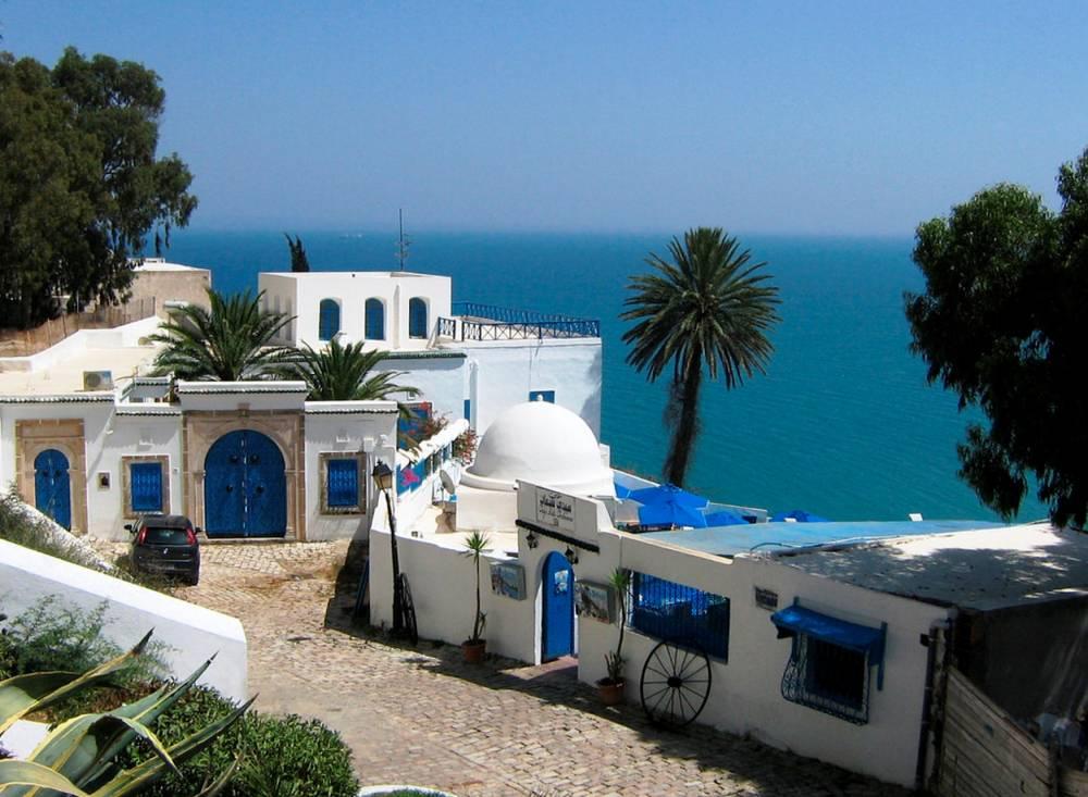 Vue de Sidi Bou Saïd, à quelques kilomètres de la capitale. ©  SarahTz / FlickrCC