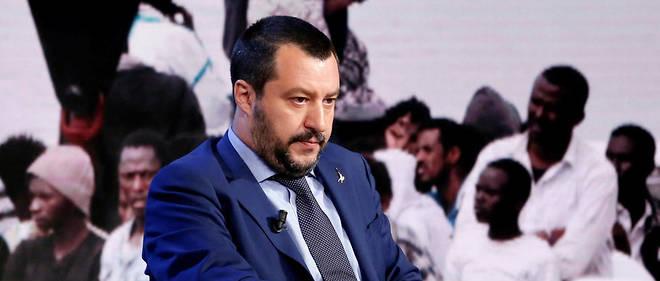 """Résultat de recherche d'images pour """"migrants, Italy, Salvini/Conte"""""""