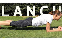 La position du gainage (photo d'illustration).