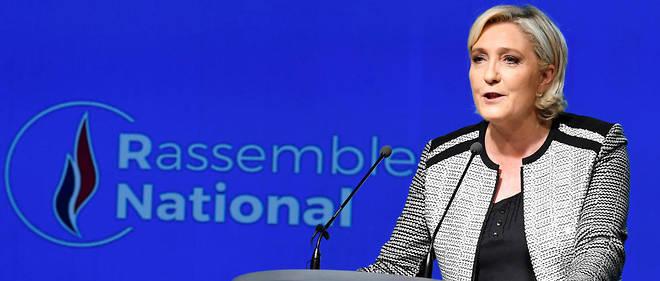 La présidente du parti Rassemblement national, Marine Le Pen, a voulu savoir pourquoi Christophe Castaner ne s'était pas rendu à l'Assemblée nationale.