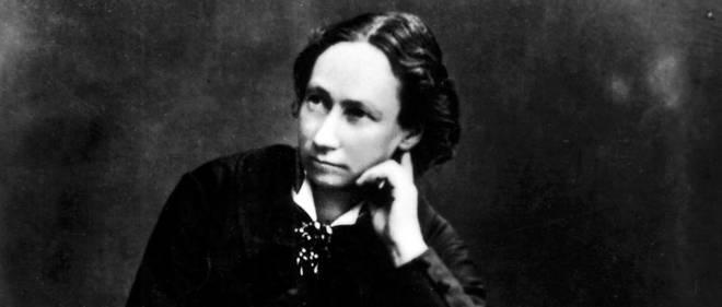 Portrait de Louise Michel (1830-1905), anarchiste héroïne de la Commune.