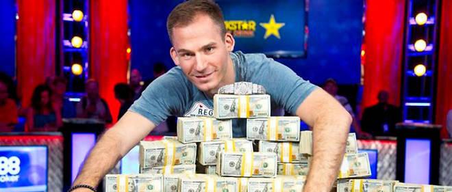 Justin Bonomo vient de remporter 10 millions de dollars en un tournoi.