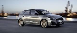 L' Audi A1 2018 s'inspire de la physionomie des célèbres Quattro Sport de 1985, un tendance lourde qui signe déjà le design, à l'opposé de la gamme, du nouveau Q8
