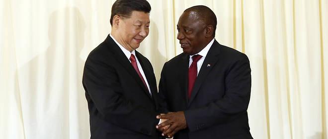 L'Afrique du Sud est la quatrième étape de la tournée du président Xi dans cinq pays, qui l'a déjà conduit aux Émirats arabes unis, au Sénégal et au Rwanda. Il visitera ensuite la République de Maurice à l'occasion d'une escale.