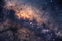 Cliché de notre galaxie la Voie lactée, région du centre galactique.  ©Alex Tudorica