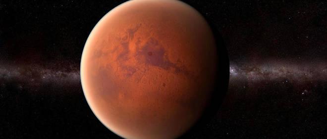 La planète Mars est aujourd'hui froide, désertique et aride, mais était auparavant chaude et humide et abritait une grande quantité d'eau liquide et de lacs il y a au moins 3,6 milliards d'années.