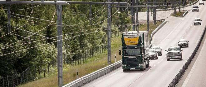 Avant d'en arriver à une autoroute totalement sûre avec, par exemple, cet axe expérimental à catenaire, il faudra éduquer les conducteurs.